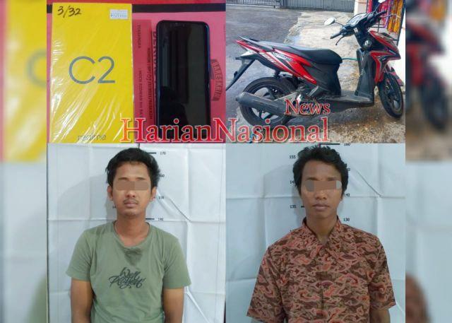 Dua Buronan Di Surabaya Dibekuk Unit Reskrim Polsek Semampir