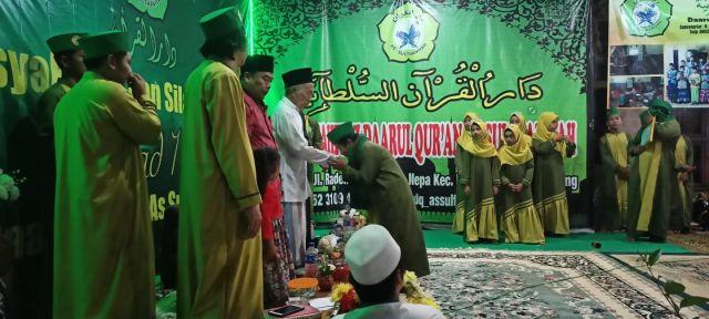 Milad Lembaga Tahfidz Daarul Qur'an Assulthaniyah Banyuates Sampang
