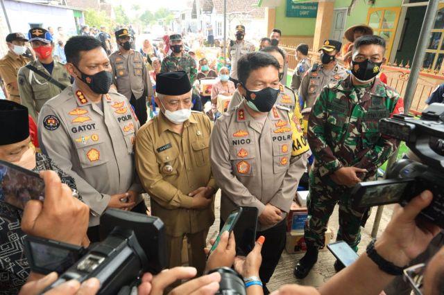 Kapolda Jatim Ikuti Launching Polri TV Dan Radio Di Daerah Gempa
