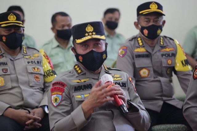 Tim Supervisi Mabes Polri, Lakukan Pengecekan Penerapan Prokes