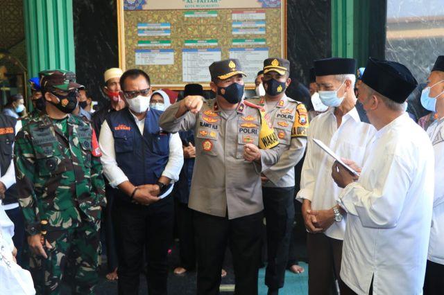 Forkopimda Jatim Berkunjung Ke Masjid Agung Al-Fattah Mojokerto