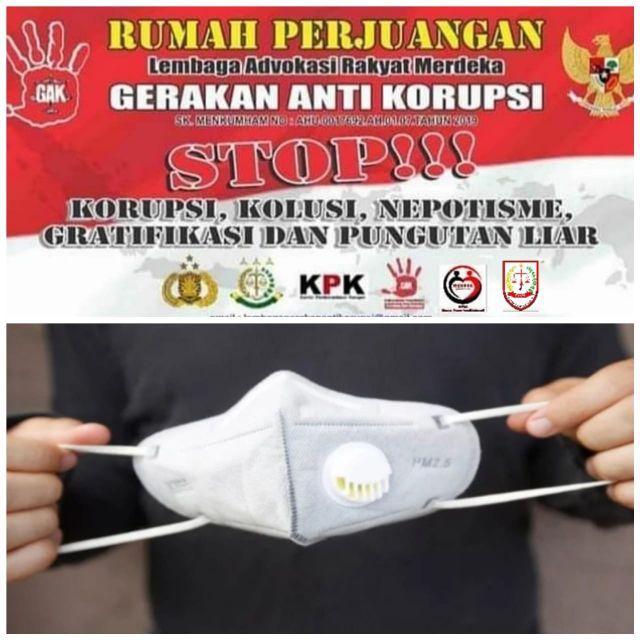 DPP LARM-GAK Apresiasi Kinerja Kejati Banten Terkait Kasus Masker