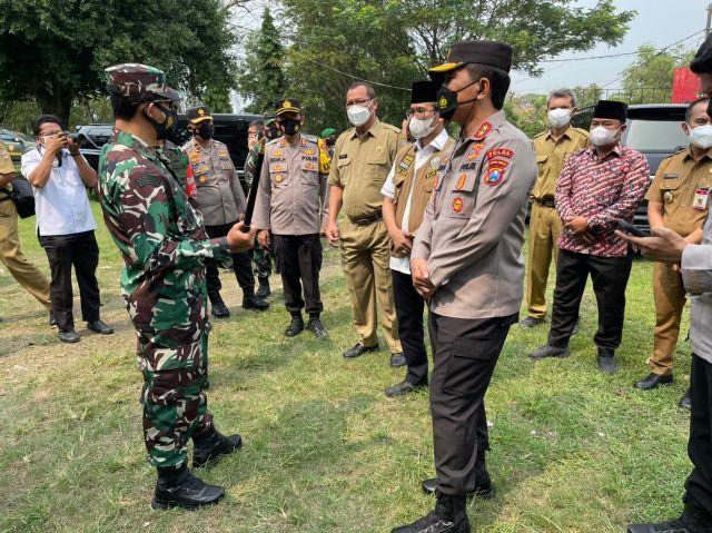 Forkopimda Jatim Siapkan Antigen Massal di Bangkalan