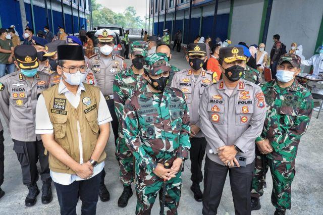 Forkopimda Jatim Adakan Management Krisis di Bangkalan