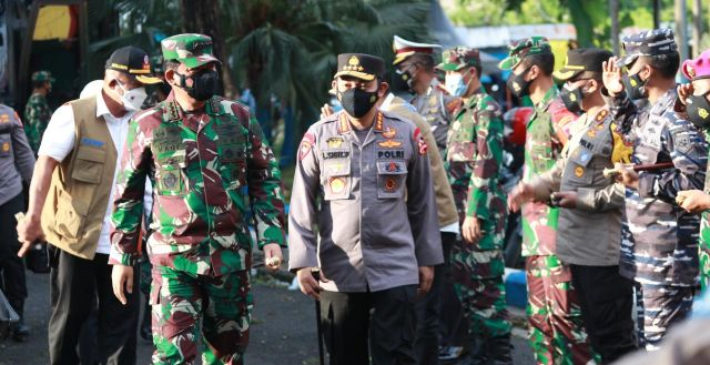 Kapolri Gandeng Panglima TNI Tininjau Bangkalan