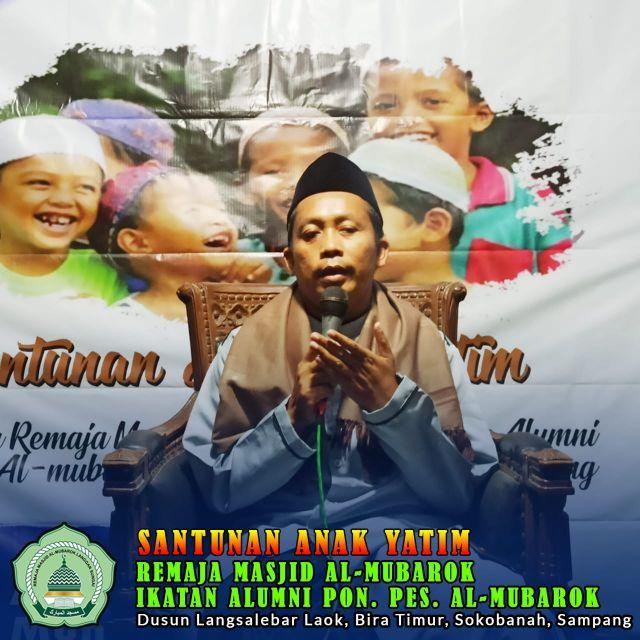 Remas PP. Miftahul Ulum Al-Mubarok dan Alumni Santuni Anak Yatim