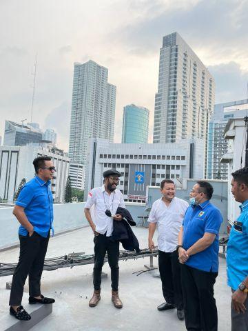 Gelontorkan Anggaran 2 M, Raden Andreas Siap Bangun Gedung KNPI