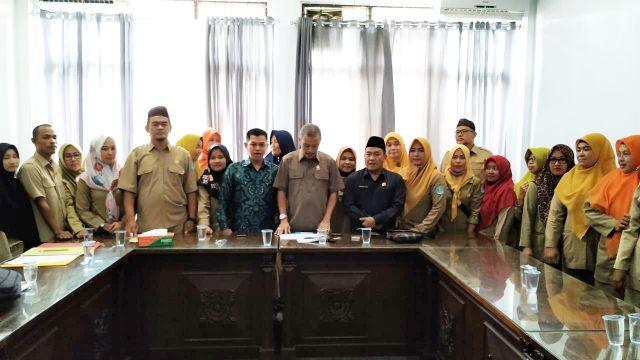 Guru Honorer Minta Dukungan DPRD Kabupaten Bangka