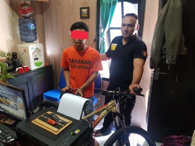 Satu Pelaku Pencurian Berhasil Diringkus TAB Polsek Gayungan