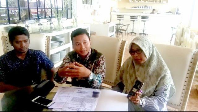 Kuasa Hukum M. Ismail Marzuki Datangi Reskrim Polres Tanjung Perak