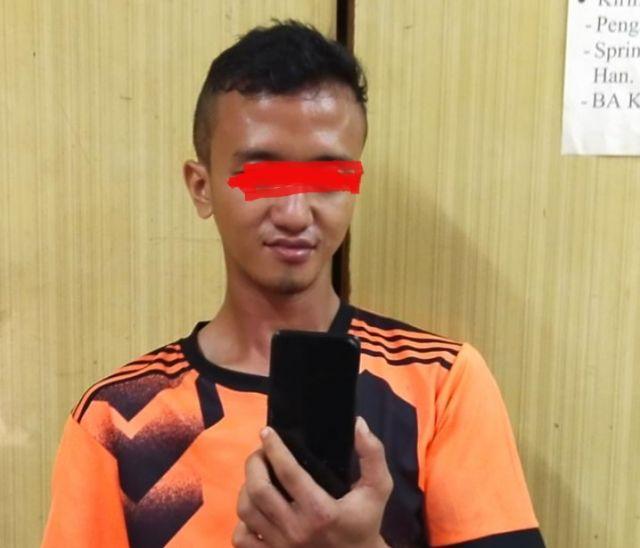 Nekat Merampas Hendphone, Pria Asal Surabaya Dijebloskan Kepenjara