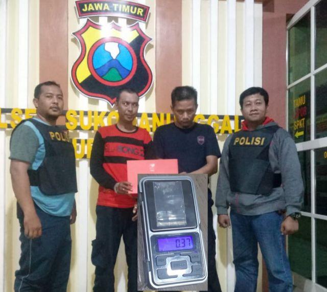 Ngaku Ingin Kuat, Dua Satpam di Surabaya Konsumsi Sabu