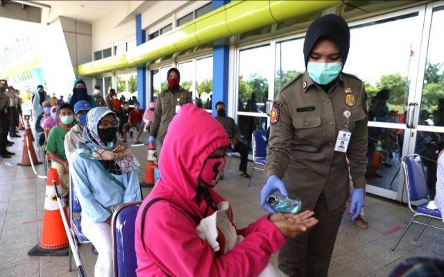 Dirut Jatim Expo Dukung Lumbung Pangan Jatim dan Tetap Jaga Jarak