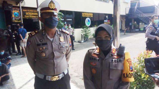 Polisi Amankan 25 sepeda Motor Dan 22 Remaja Dalam Razia Balap Liar