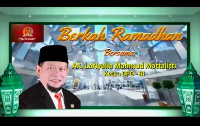 Berkah Ramadhan Bersama AA LaNyalla Mahmud Mattalitti, Ketua DPD RI