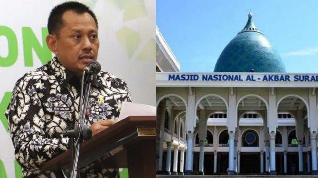 Pemprov Jatim Izinkan Masjid Solat Ied, Kemenag Minta Pikir Ulang
