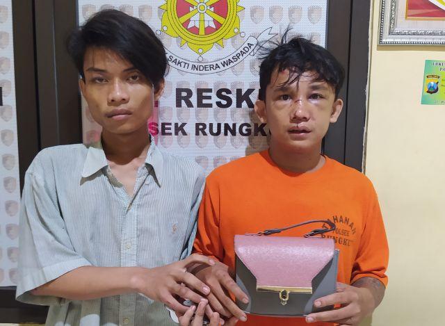 Polisi Selamatkan Dua Pelaku Jambret Dari Amukan Masa