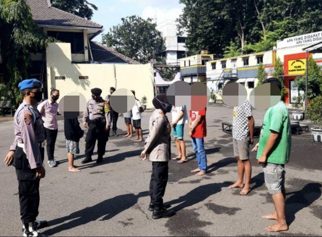 Aksi Tawuran Di Bulak Rukem Surabaya Digagalkan, Polsi Amankan 7 Orang