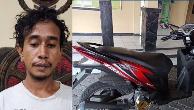Ingin Memiliki Motor,  Pria Di Surabaya Nekat Tipu Teman Sendiri