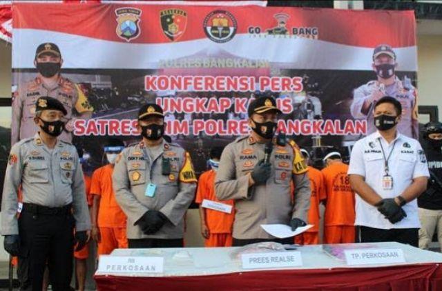 Polisi Tangkap 8 Orang Pelaku Pemerkosa Janda Muda Di Bangkalan Madura