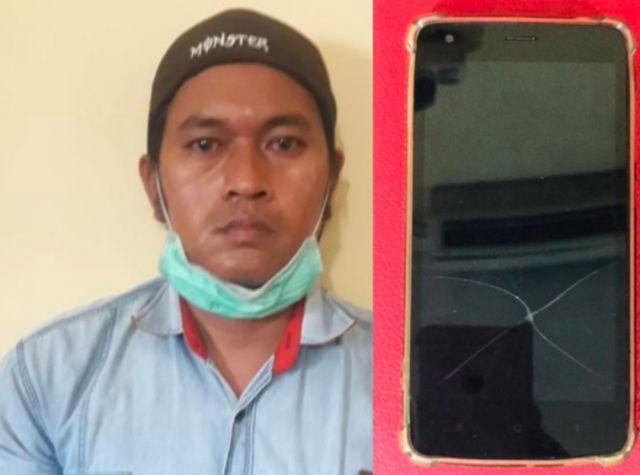 Reskrim Polsek Pabean Cantikan ungkap kasus penadah Hendphone