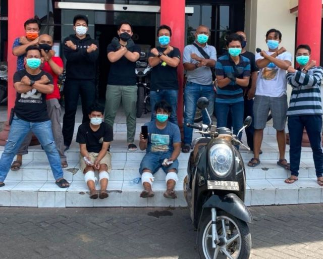 Unit Jatanras Polrestabes Surabaya Ungkap Dan Tangkap Dua Pelaku Curas