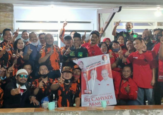 Relawan Er-Ji Tegalsari Surabaya Bergerak Solid
