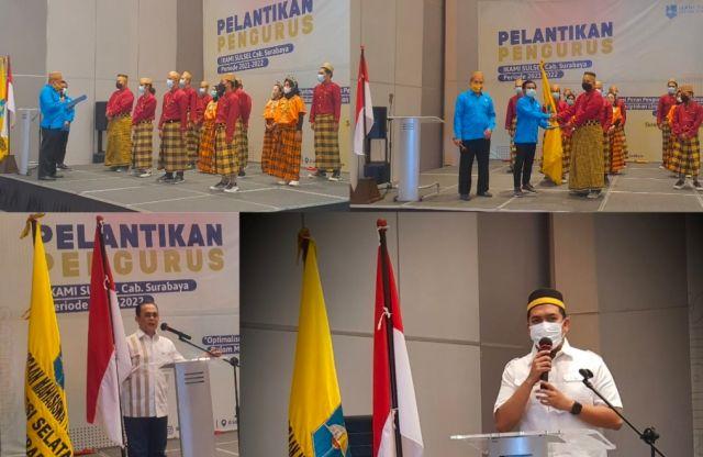 Andi Muh. Ridwan di Lantik Menjadi Ketua IKAMI SULSEL Cabang Surabaya