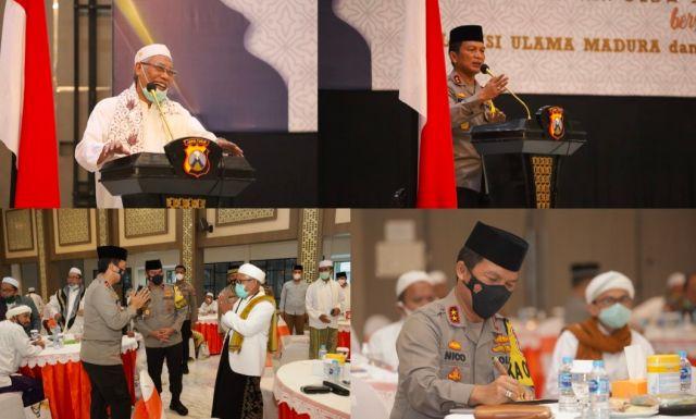 Jelang Ramadhan Kapolda Jatim Sambut Silaturahmi AUMA dan AUTADA