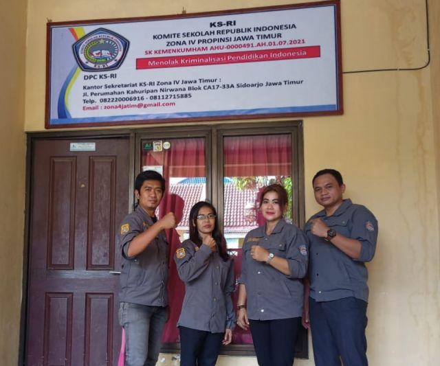 Komite Sekolah Republik Indonesia Zona 4 Jatim Resmi Dibentuk