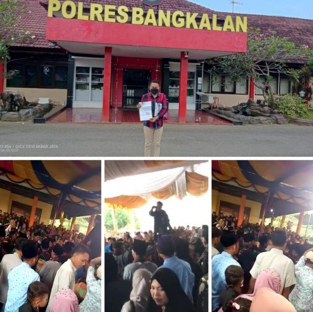 DPP LARM-GAK, Kecewa Lambannya Penanganan Dugaan Pelanggaran Prokes