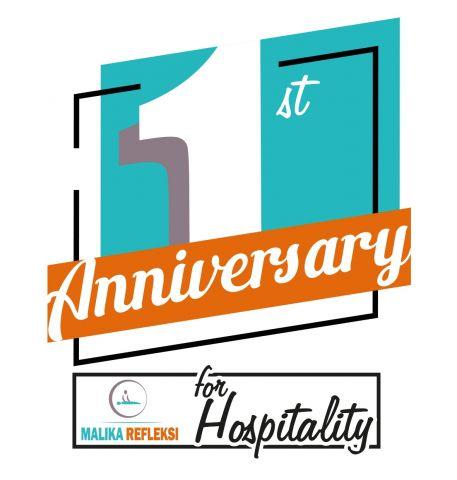 Rayakan Anniversary, Malika Refleksi Perkuat Hospitality