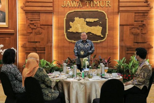 Ketua DPD RI LaNyalla Puji Gubernur Khofifah Berhasil Hadapi Pandemi