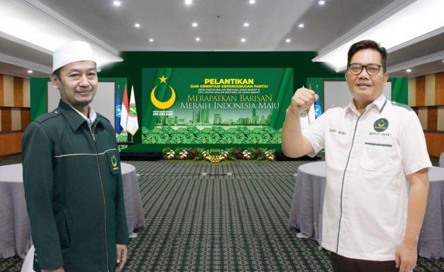Partai Bulan Bintang Siap Gelar Pelantikan dan OKP DPW-DPC  Se-Jabar