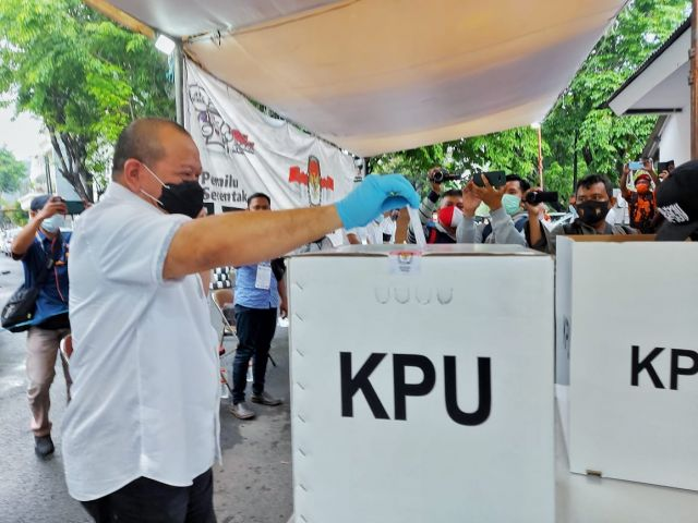 Ketua DPD RI, AA LaNyalla Berpartisipasi Meramaikan Pilkada Surabaya