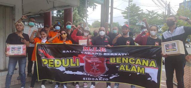 DPC Maluku Satu Rasa (M1R) Kabupaten Sidoarjo Peduli Bencana Alam