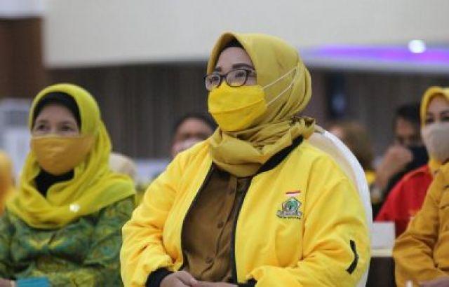 Plt Dicabut, Peluang Ade Puspita Jadi Ketua DPD Kian Besar