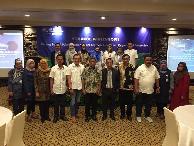 BPJAMSOSTEK Ngopi Bareng SP/SB, PLKK Jawa Timur.