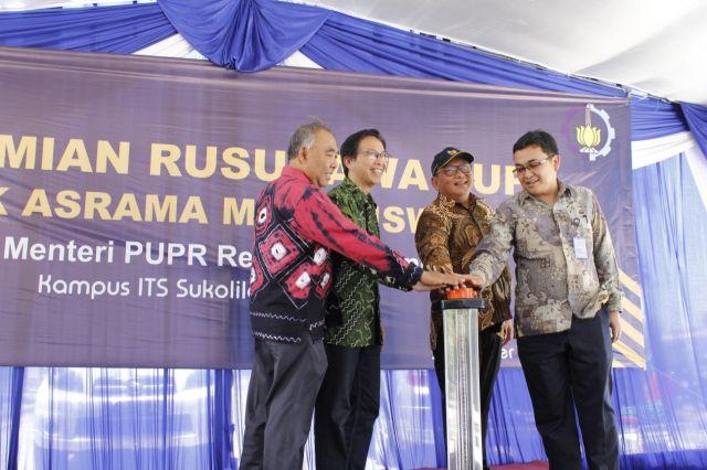 ITS Resmi Manfaatkan Rusunawa Mahasiswa Milik Kementerian PUPR