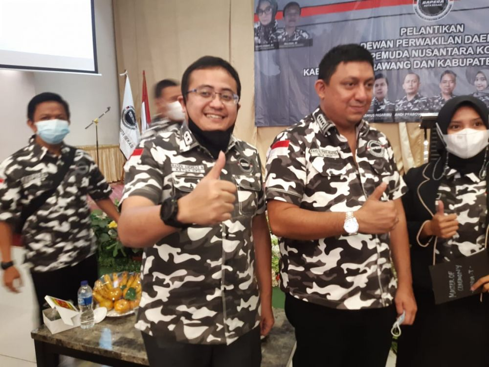 Ketua Bapera Jabar Ajak Anggotanya Tetap Solid Bantu Pemerintah